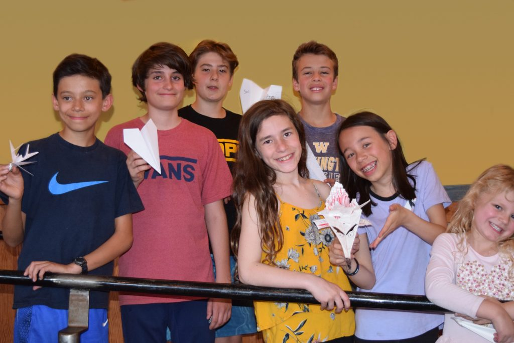 Future glider pilots at HRS 3rd birthday by P Woolery